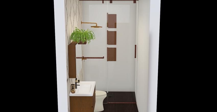 Copy of Baño-Étnico Interior Design Render