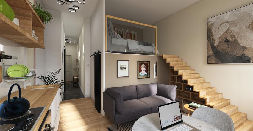 Rózsa Interior Design Render