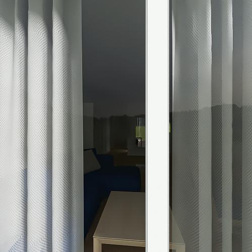 telewizor sciana w przedpokoju Interior Design Render
