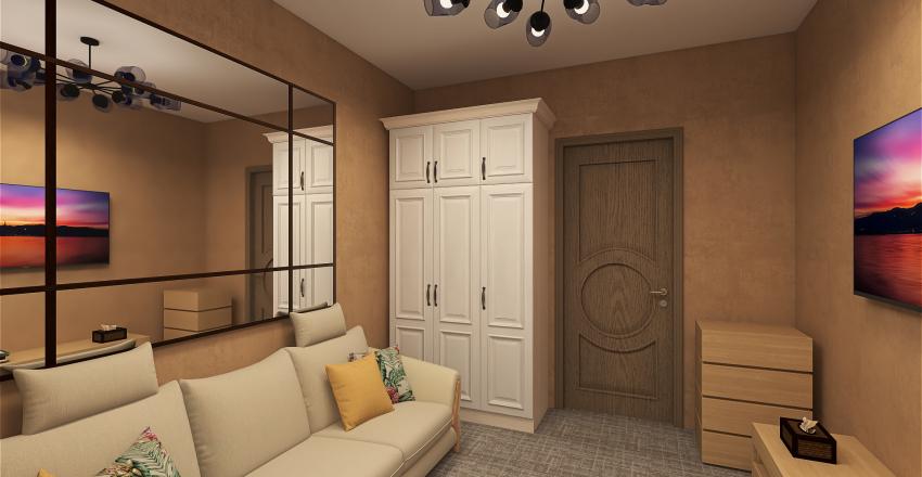student room Interior Design Render