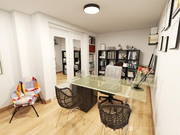 TOÑI Interior Design Render