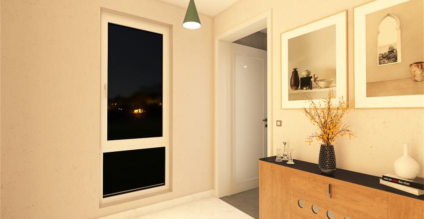 διωροφη κατοικια Interior Design Render
