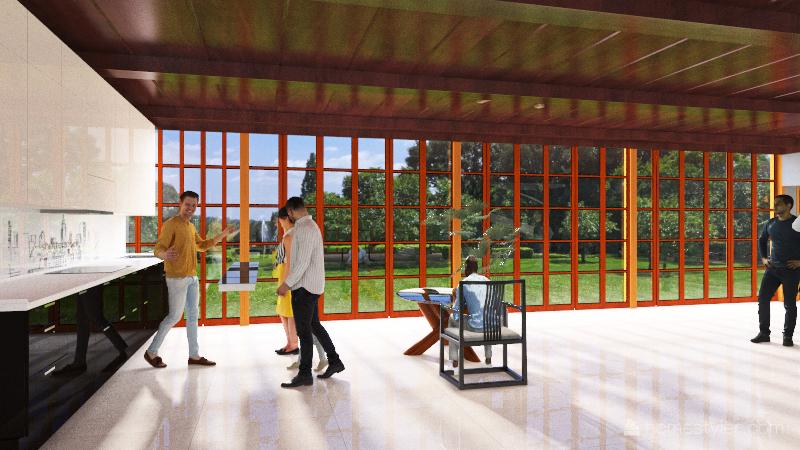 empres AC Interior Design Render
