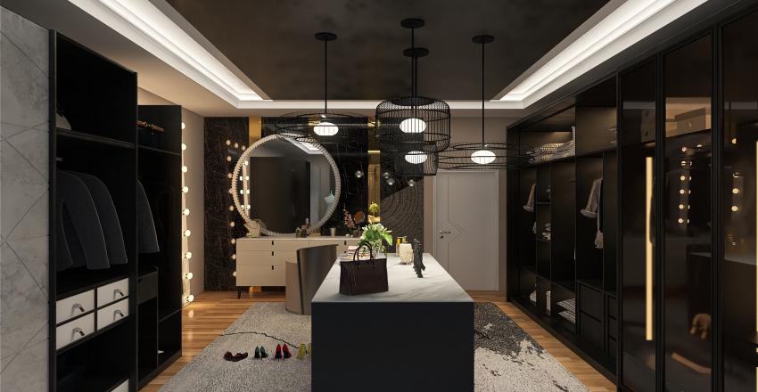 dressingroom Interior Design Render