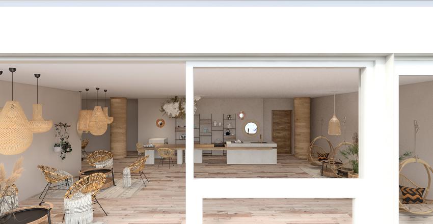 herbaciarnia Interior Design Render