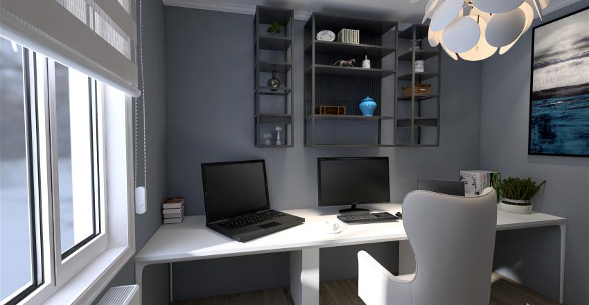 Wiktoria Office  Interior Design Render