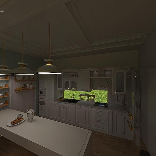 Casa clásica ✨ Interior Design Render