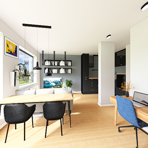 salon 1 lemele fotel proby Interior Design Render