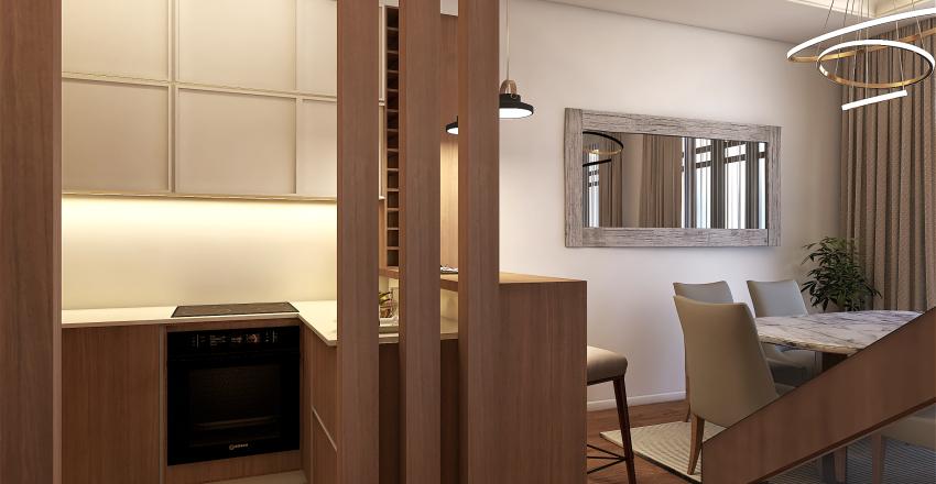 Duplex_Belgrade Interior Design Render