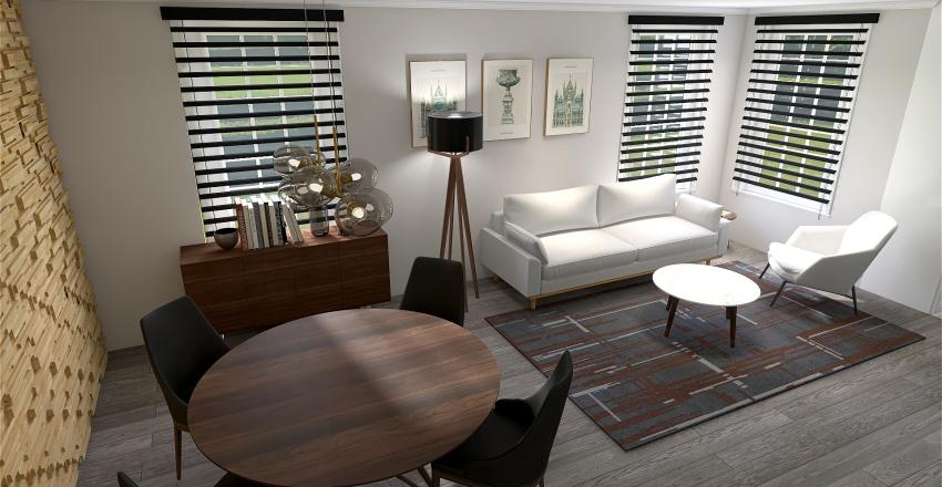 3rd POWDER ROOM Interior Design Render