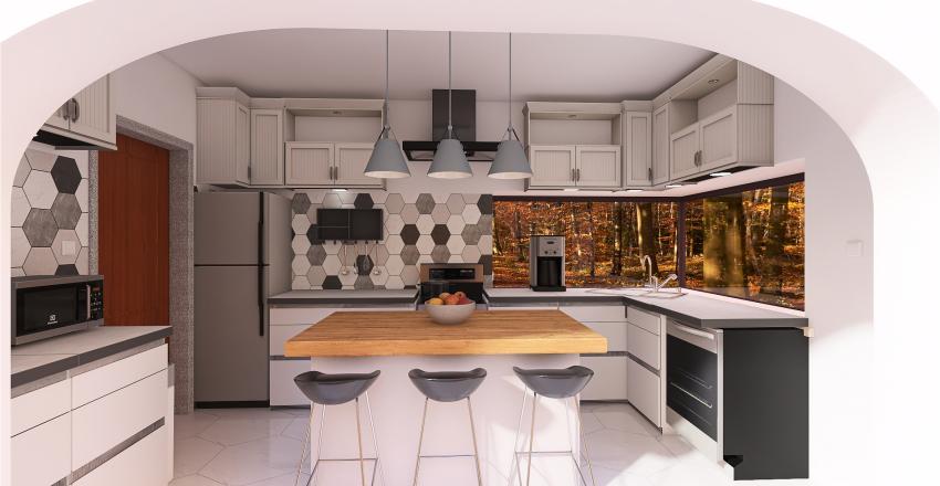 Dream Kitchen Project -Kevin 2021 Interior Design Render
