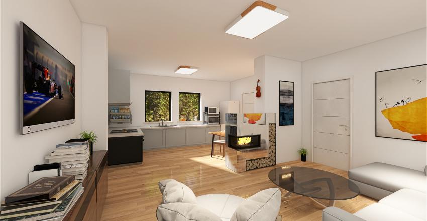 Nové Dvory Interior Design Render