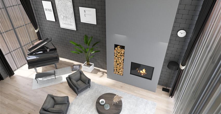 gossip girl loft Interior Design Render