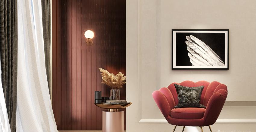 Chic or Kitsch Interior Design Render