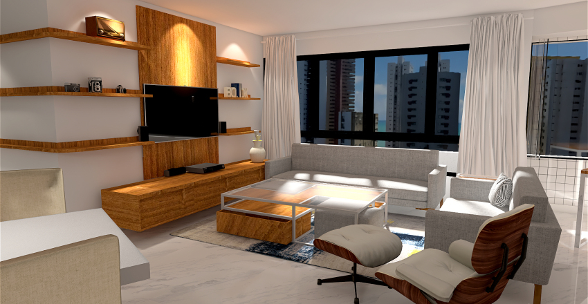 MANOEL DE CARVALHO Interior Design Render