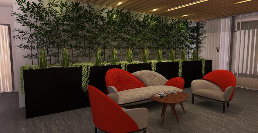 Recepción HSBC Interior Design Render