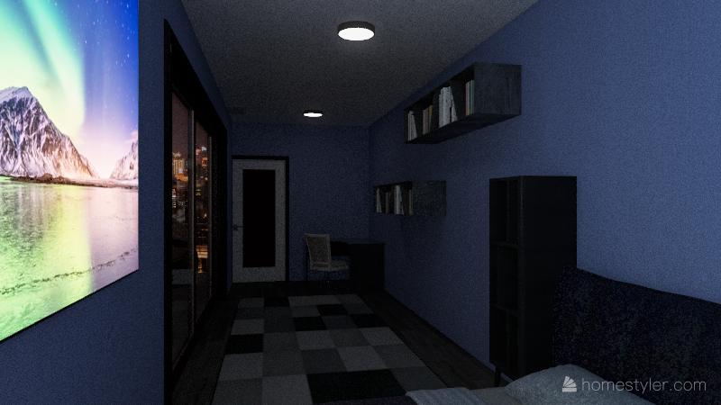 Tiny home Interior Design Render