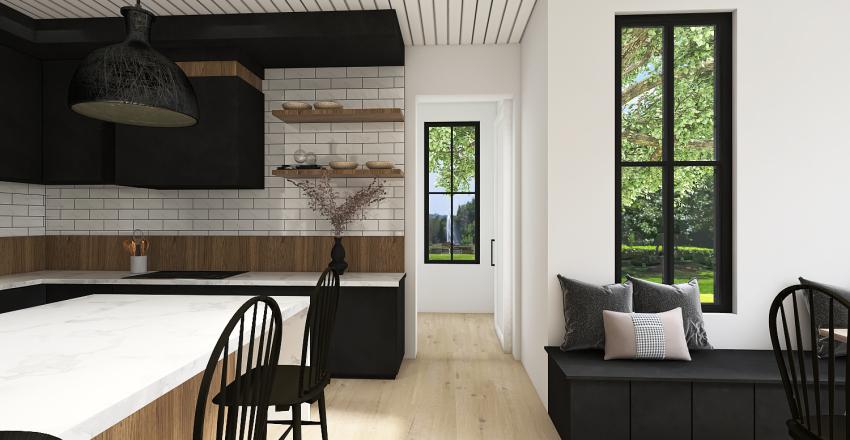 LAVENDER FARMHOUSE Interior Design Render