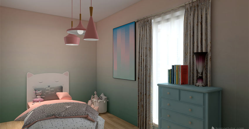 For my class Interior Design Render