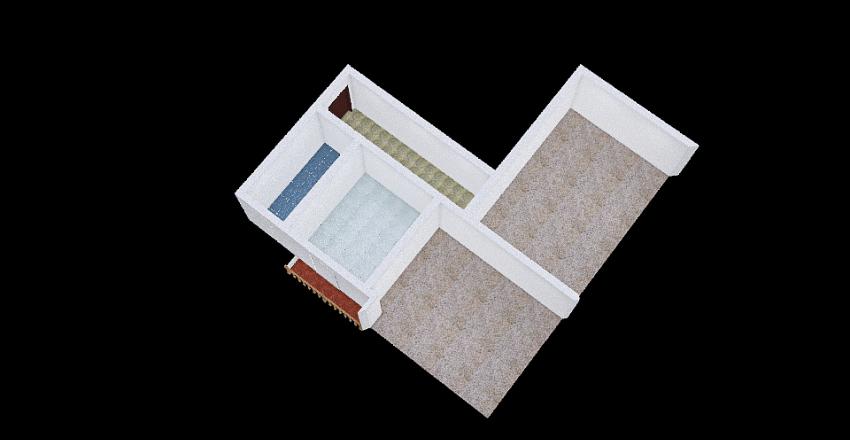 VIA MECENATE Interior Design Render