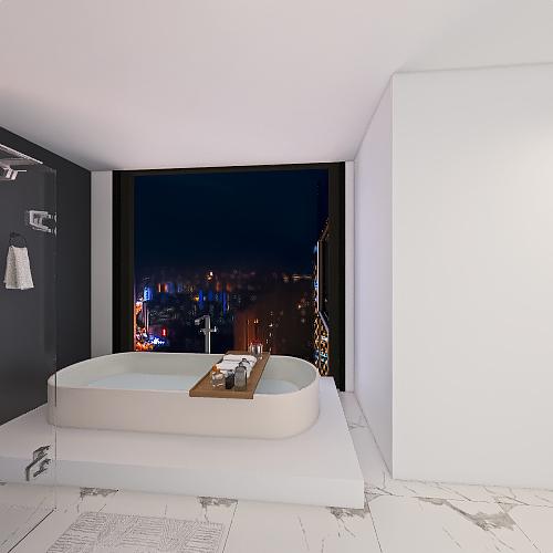 apartamento moderno Interior Design Render
