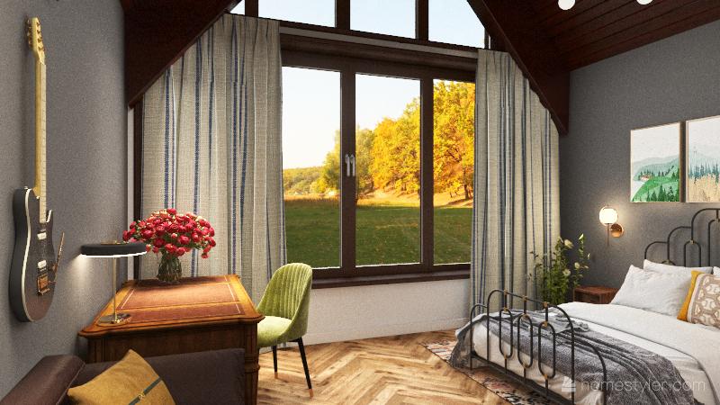 Home in Nizhny Novgorod Interior Design Render