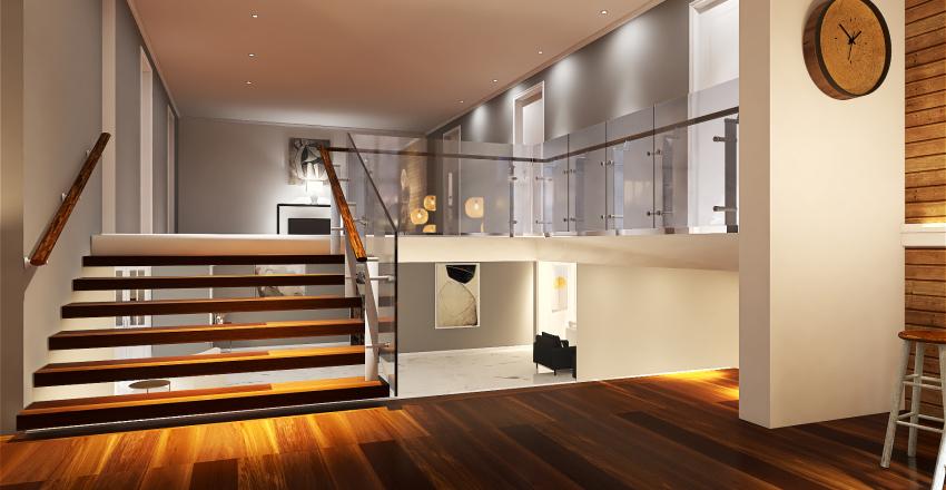 3 Pisos Interior Design Render