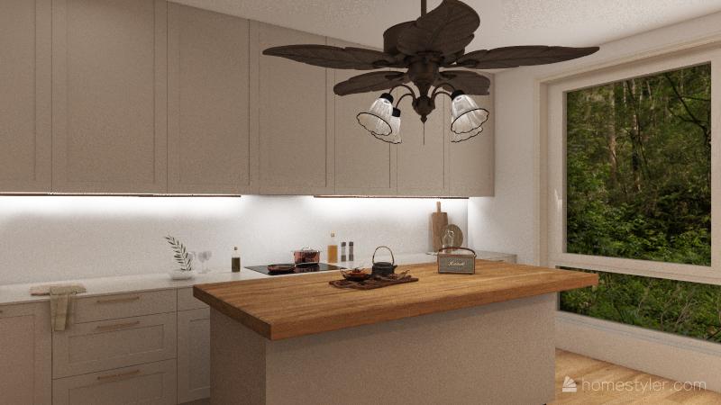 First house design! Interior Design Render