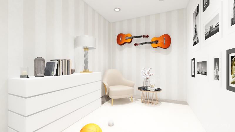Marina Projecto final 1.1 Interior Design Render