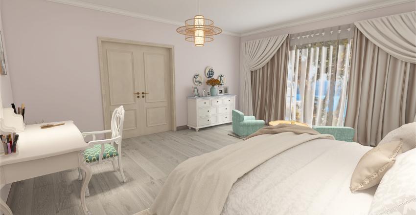 Bedroom Wiktoria Interior Design Render