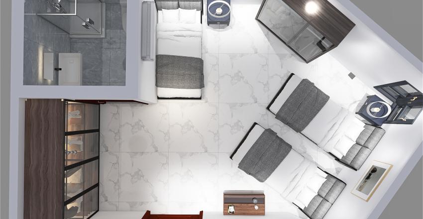 porto said elgabrouny Interior Design Render