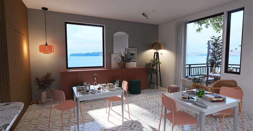 Coffee Shop reno☕ (new) Interior Design Render