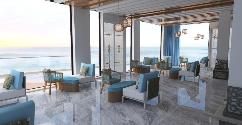 moulin bleu Interior Design Render