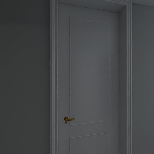wymiary - stara lazienka Interior Design Render