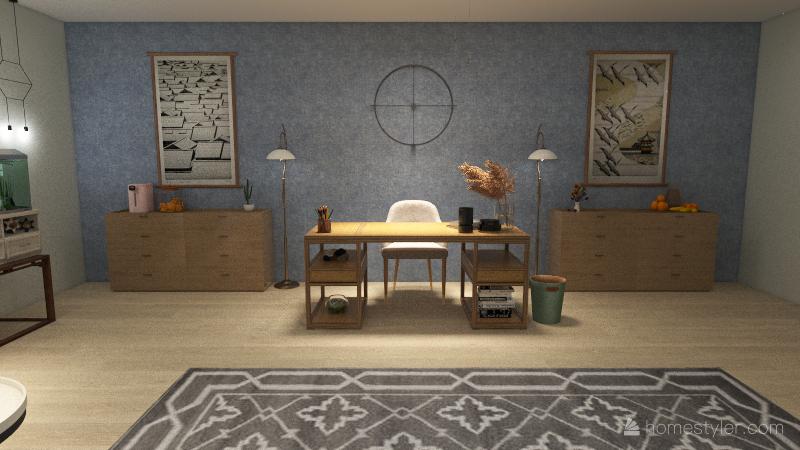 Nurse Office Interior Design Render
