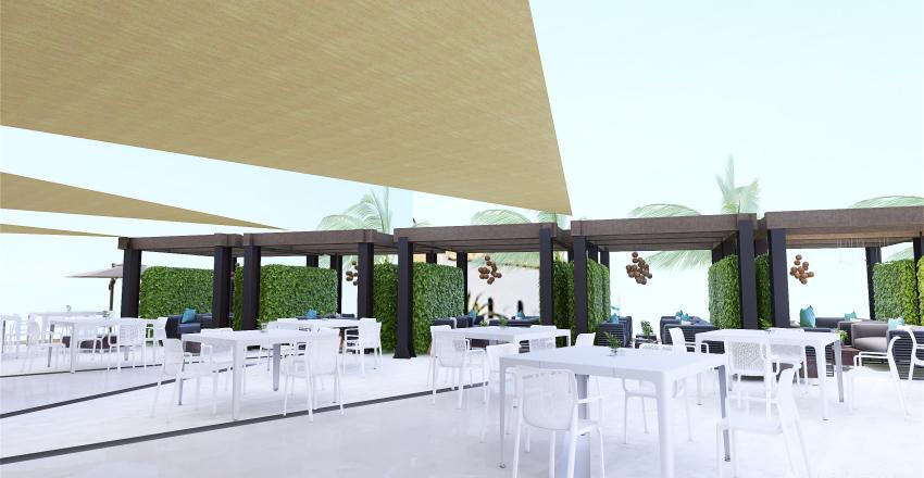 Cantina Isla Plana Interior Design Render