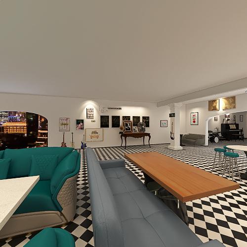 DYNAMITE Interior Design Render