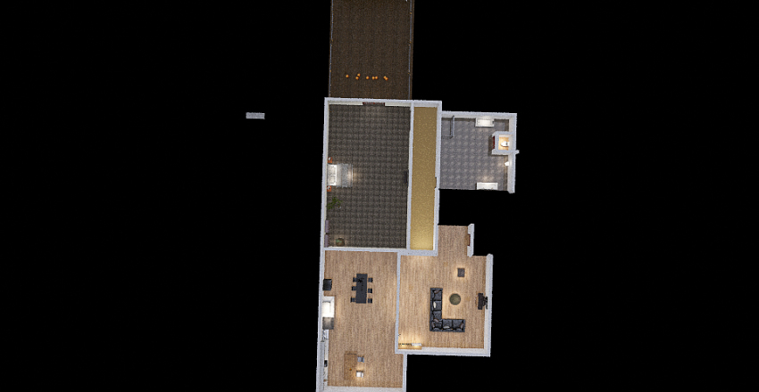 Whole house Interior Design Render