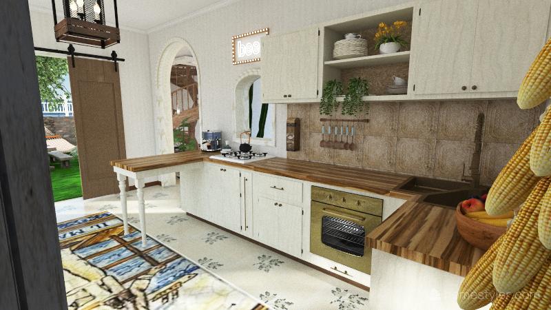Bodrum Interior Design Render