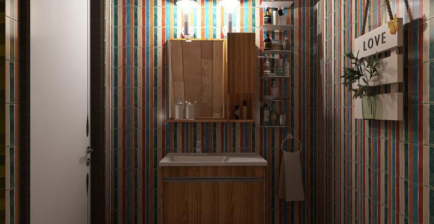 Forest cottage Interior Design Render