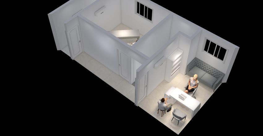 David_Alves_Bermudez_Arranjo_Fisico_P2-2_2020-2 Interior Design Render