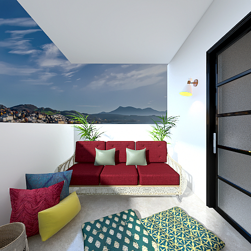 Modern Moroccan by Kalani Interior Design Render