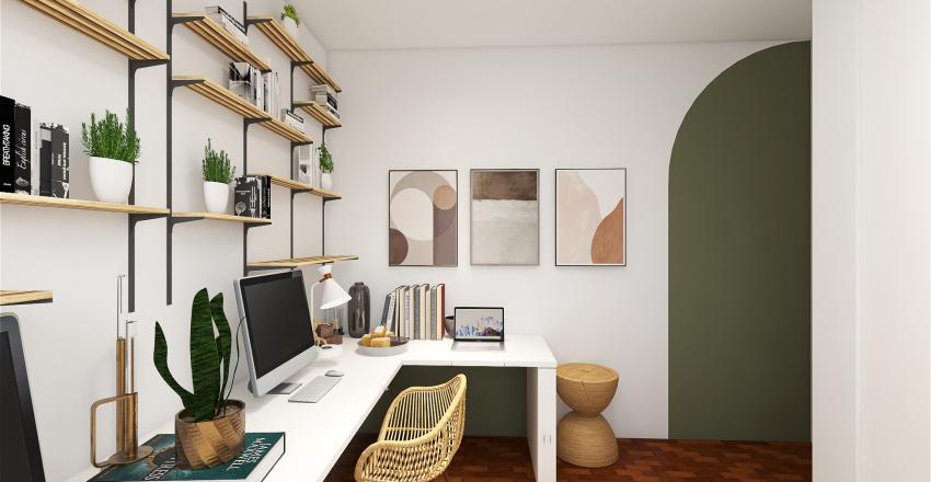 Giu Home Office Interior Design Render