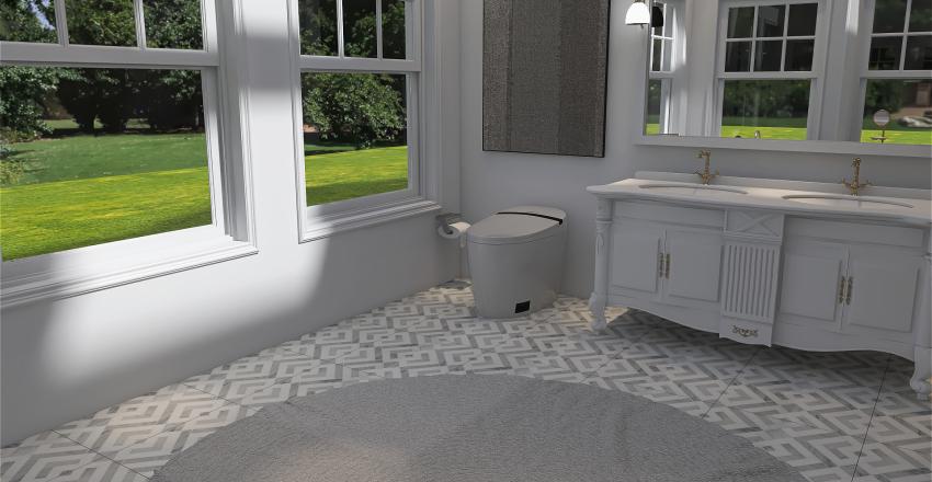 Modern Farm House Interior Design Render