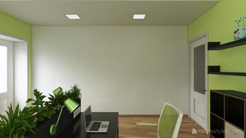 Коворкинг 2 этаж Interior Design Render