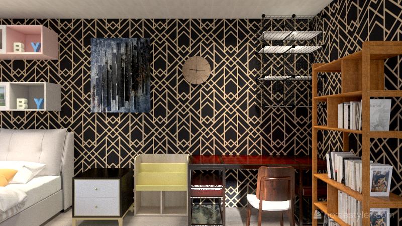 Residential House Interior Design Render