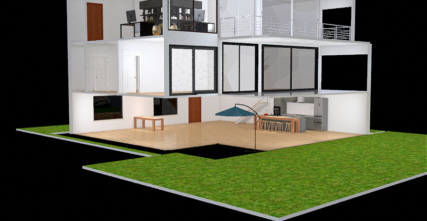 Traumhaus Interior Design Render