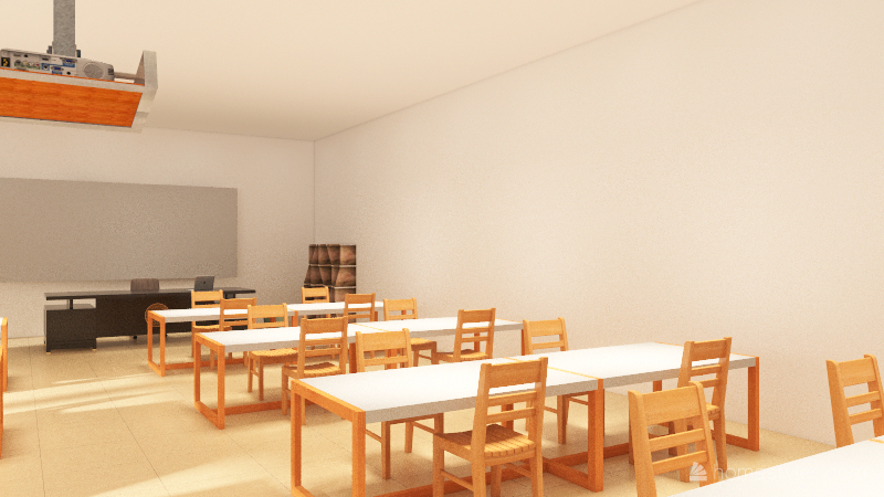 Technologies  Workshop_copy Interior Design Render