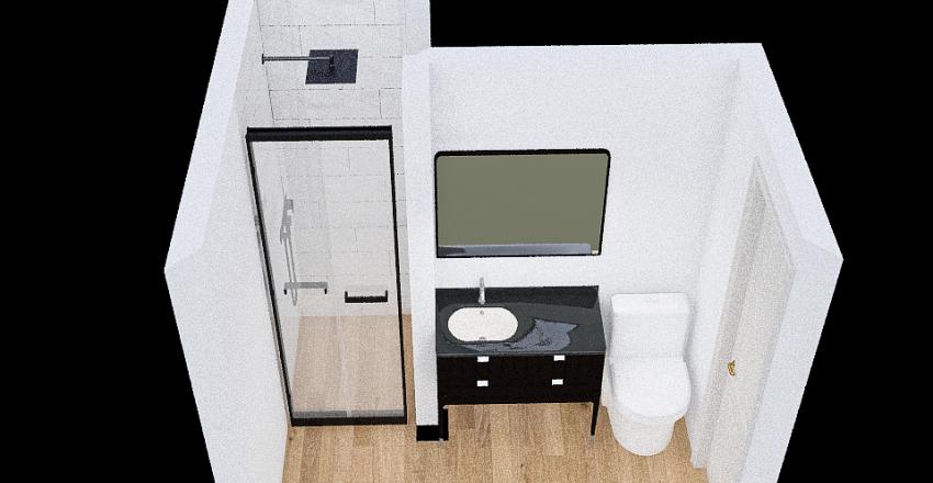 Remodel Bathroom Interior Design Render
