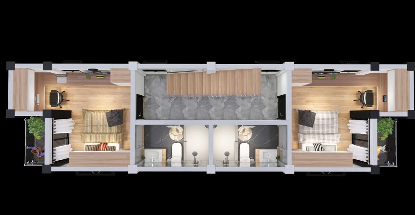 2da. Planta Interior Design Render